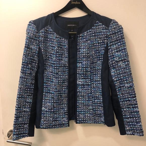 04613ad4dc06 Lafayette 148 New York Jackets   Blazers - Tweed combo fabric jacket